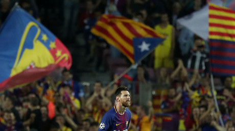 FC Barcelona to go on strike over Catalonian independence referendum violence