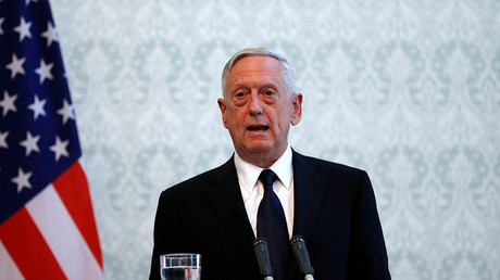 U.S. Defense Secretary James Mattis. © Omar Sobhani