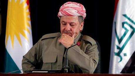 Iraqi Kurdish president Masoud Barzani © Azad Lashkari