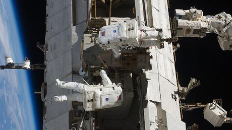 Watch astronauts repair ISS robot arm in daring spacewalk (LIVE)