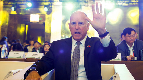 California Governor Jerry Brown  © Thomas Peter