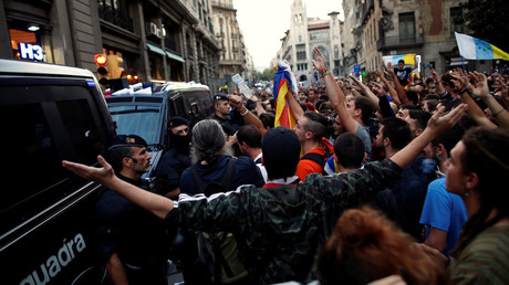 'The brutal military repression has united us all' – Catalonia MEP