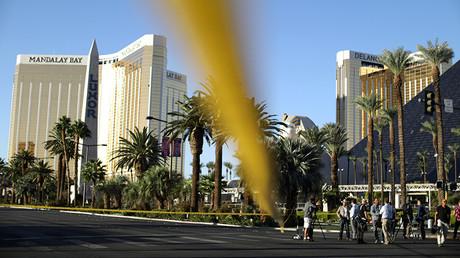 The Mandalay Bay Resort and Casino in Las Vegas, Nevada, U.S., October 3, 2017 © Lucy Nicholson