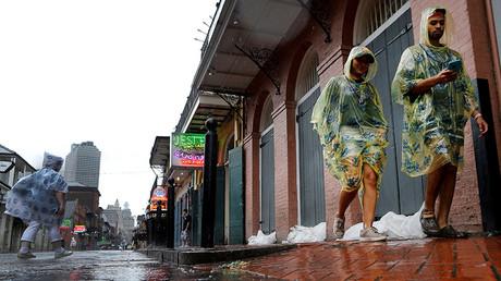 Hurricane Nate makes Louisiana landfall with winds of 85mph