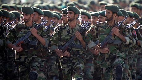 Iran says its reaction would be 'crushing' if US designated Revolutionary Guards as terrorist group  %Post Title