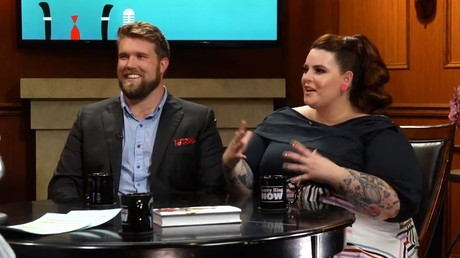 Plus-size models Tess Holliday & Zach Miko open up