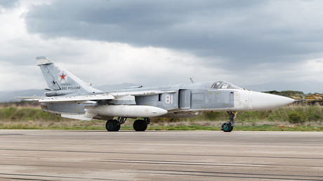 Russian Su-24 attack aircraft crashes during takeoff in Syria, crew killed – MoD