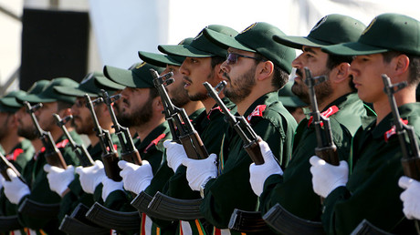 Iranian Revolutionary Guards. © Atta Kenare
