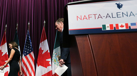 Brexit means... NAFTA? UK could leave EU trade alliance & join North American one instead