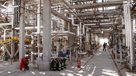 FILE PHOTO: A view of Arak heavy water production facility in Central Iran 360 km (223 miles) south west of Tehran. ©  Fars News MN