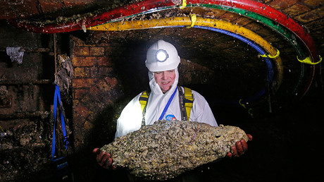 London's growing number of giant fatbergs blamed on restaurants