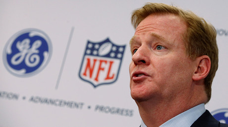 Roger Goodell, Commissioner of the National Football League (NFL)  © Mike Segar