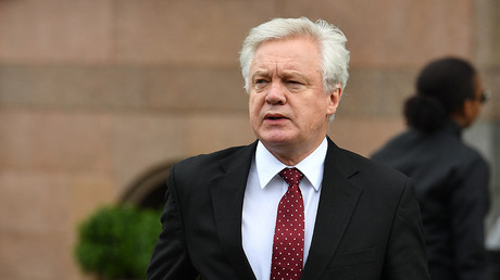 Britain's Secretary of State for Exiting the European Union (Brexit Minister) David Davis © Ben Stansall
