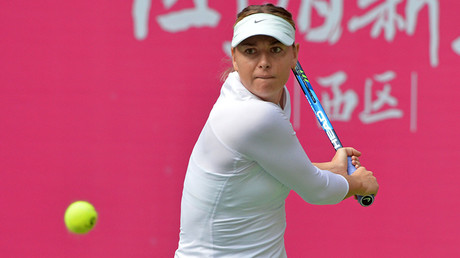 Maria Sharapova advances to semifinal of Tianjin Open