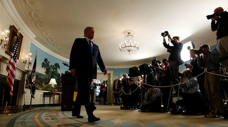 US President Donald Trump © Kevin Lamarque