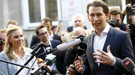 FM Kurz's party leads in Austrian parliamentary election, right-wing FPO second