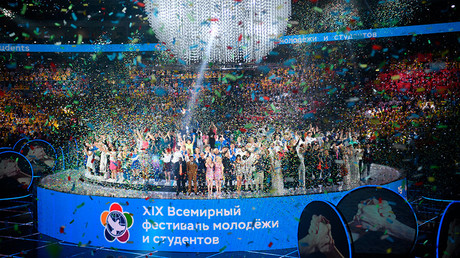 'United by the power of a dream': World Youth Festival opens in Sochi, Russia