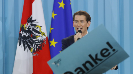 Top candidate of the People's Party (OeVP) Sebastian Kurz © Leonhard Foeger