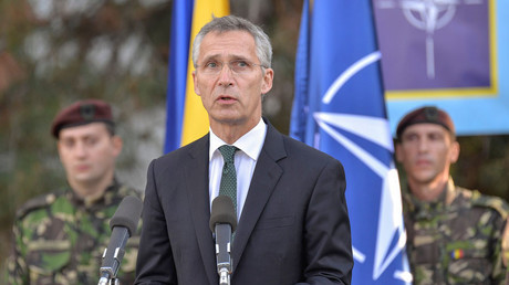 Young Labour appears to brand NATO chief Jens Stoltenberg 'a fascist'