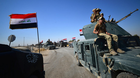 Iraqi armed forces move to take over Kirkuk