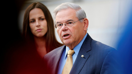 FILE PHOTO Senator Bob Menendez © Joe Penney