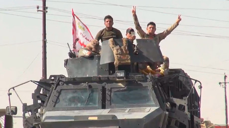 Dramatic moment Iraqi forces enter Kurdish Kirkuk, captured by RT (VIDEO)