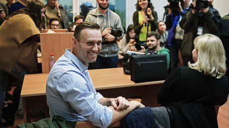 Alexei Navalny at the Simonovsky District Court of Moscow © Eugene Odinokov