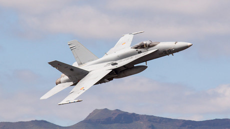 Spanish F18 fighter jet crashes after takeoff in Madrid, pilot killed – Defense Ministry