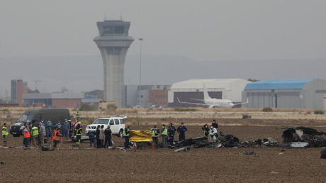 Spanish F18 fighter jet crashes after takeoff in Madrid, pilot killed (VIDEOS, PHOTO)