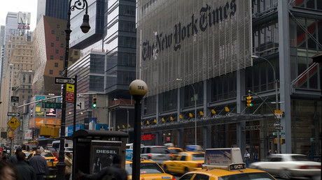 Undercover video shows NYT editor revealing bias against 'insanely crazy' Trump