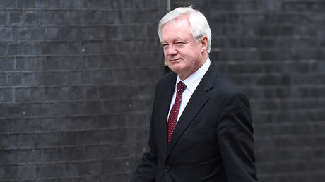 Britain's Secretary of State for Exiting the European Union (Brexit Minister) David Davis. ©Chris J Ratcliffe