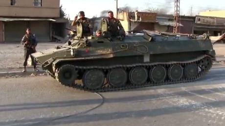 Syrian govt forces recapture Deir ez-Zor's al-Husseiniyeh village