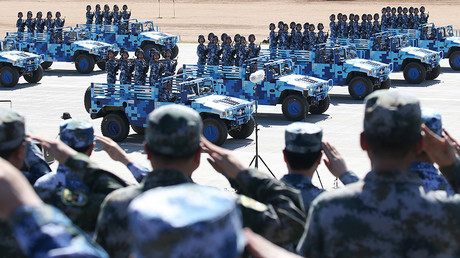 Drones provide logistical support at Chinese military drills – state media