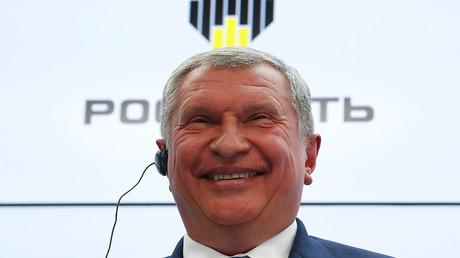 Head of Russian state oil firm Rosneft Igor Sechin © Sergey Karpukhin