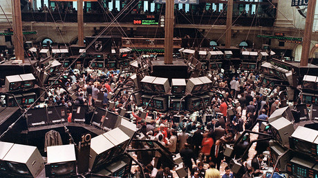 Stock markets 'right on the brink' of 50% crash, financial expert warns