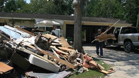 Boycott Israel & you won't get aid donations, Hurricane Harvey victims told