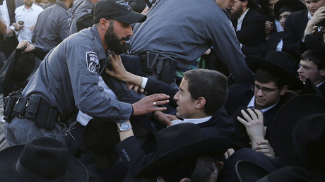 Israeli police clash with ultra-Orthodox Jewish protesters