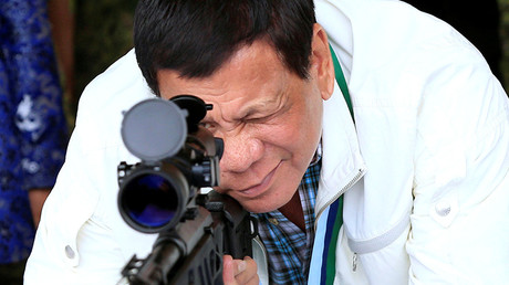 Duterte: 'If I don't act like a dictator the Philippines won't progress'