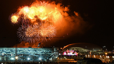 World Youth Festival in Sochi closes with vibrant show for globetrotting audience of 20,000 (VIDEO)