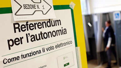 N. Italy referenda: Richest regions of Veneto & Lombardy go to polls over autonomy