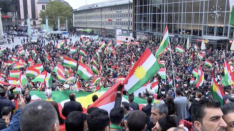 Hundreds rally in Cologne against Iraqi invasion of Kirkuk