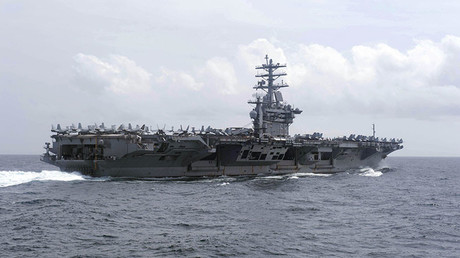 The aircraft carrier USS Nimitz (CVN 68) © Tyler Preston / Navy Office of Information