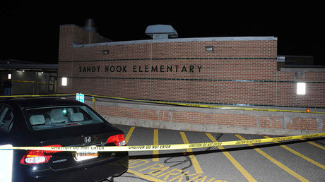 FILE PHOTO: The car driven by Adam Lanza is pictured at Sandy Hook Elementary School in Newtown, Connecticut © Connecticut State Police