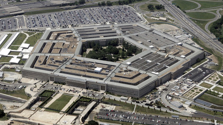 An aerial view of the Pentagon building in Washington. © Reuters