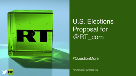 Twitter's multi-million dollar US election pitch to RT revealed in FULL
