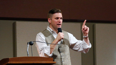White nationalist leader Richard Spencer. © Spencer Selvidge