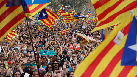 'Long-desired step': Catalan parliament declares independence from Spain