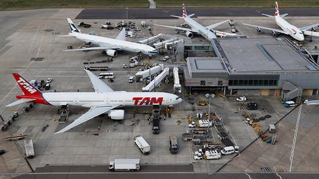 A general view of Heathrow Airport near London © Stefan Wermuth