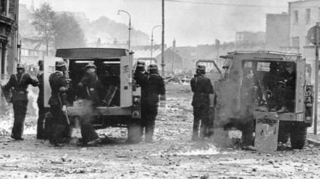 The Battle of Bogside Londonderry 1969 © imago stock&people / Global Look Press