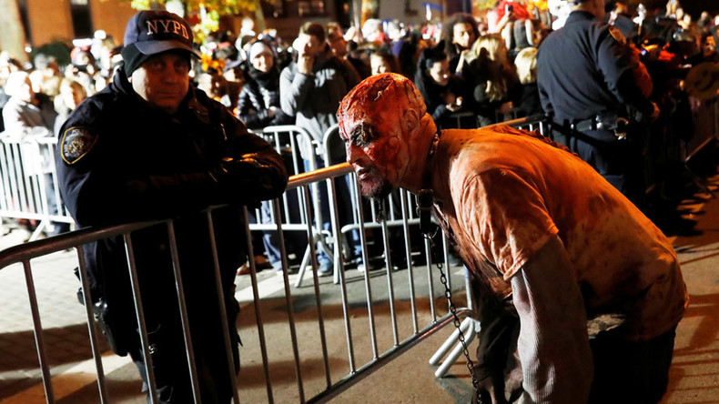 New York not spooked: City holds annual Halloween parade after terrorist attacks
